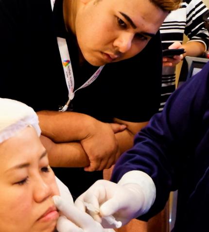 Midface augmentation training