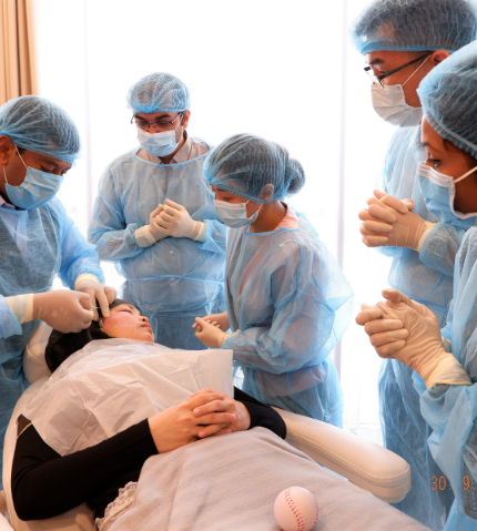 Cosmetic Medical Training at Aesthetic Academy Asia